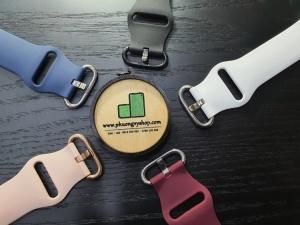 Dây cao su KHÓA XI Apple Watch series